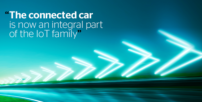 The evolution of connected cars